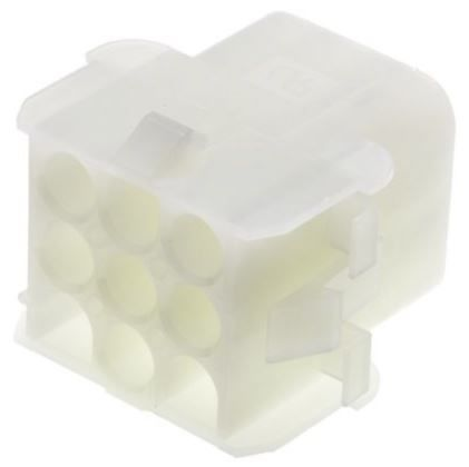 TE Connectivity , Universal MATE-N-LOK Female Connector Housing, 12 Way, 3 Row (5)