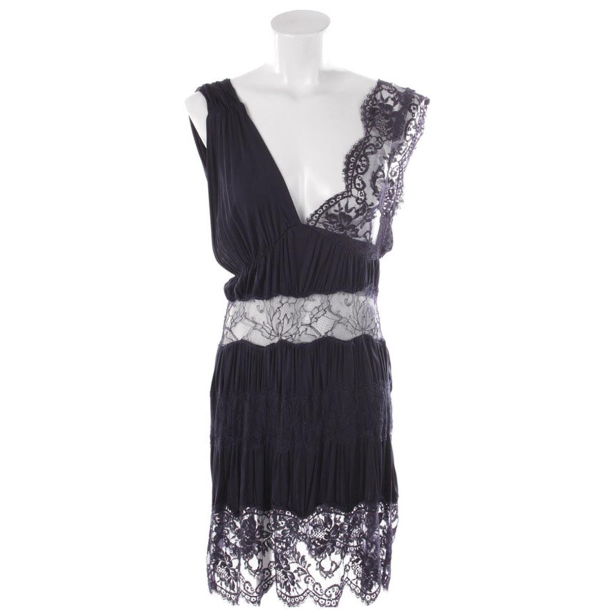 Autre Marque \N Kleid in  Blau Viskose