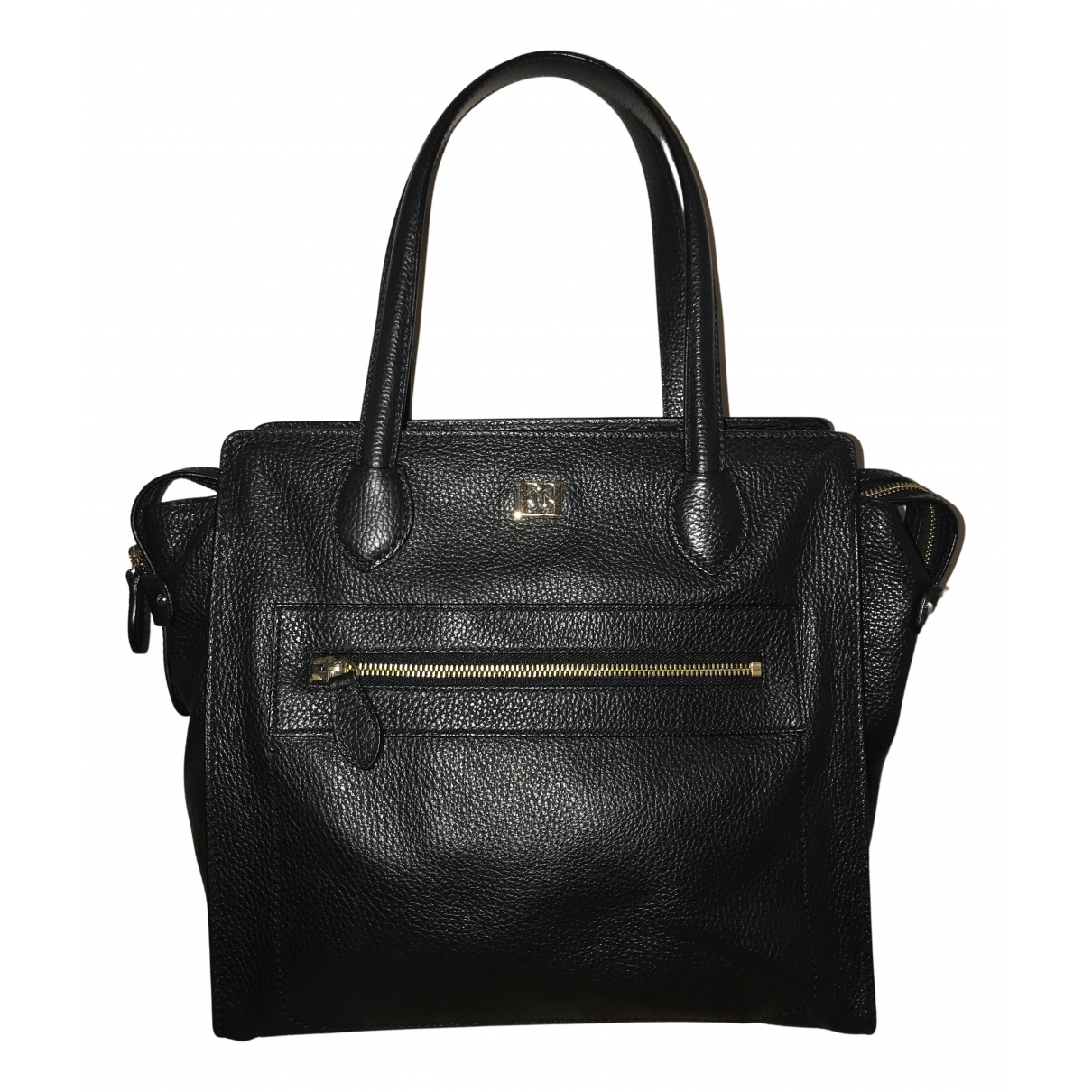 Escada N Black Leather handbag for Women N