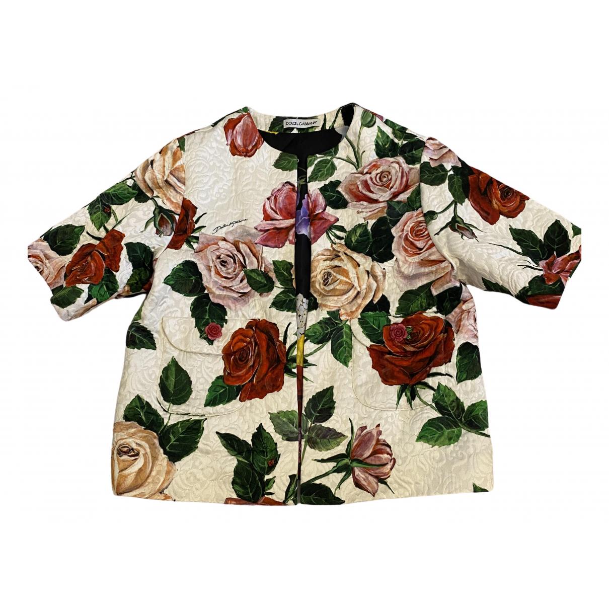 Dolce & Gabbana - Blousons.Manteaux   pour enfant en coton - blanc