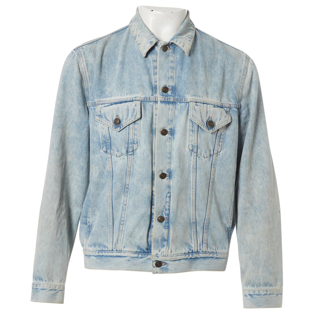 Gucci \N Blue Cotton jacket  for Men 50 IT