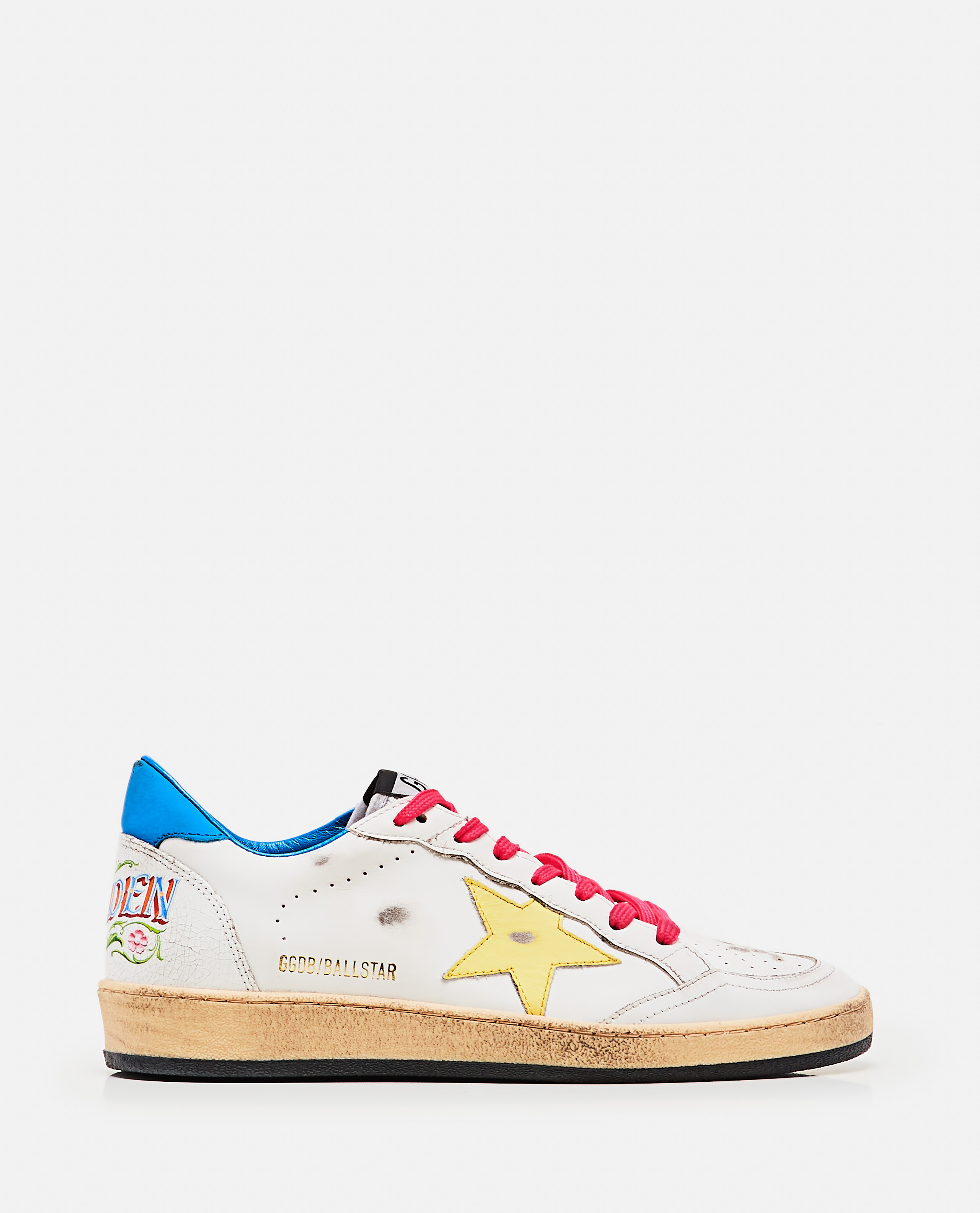 Superstar sneakers with logo lettering