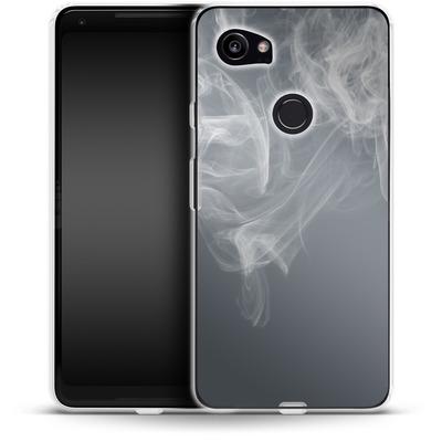 Google Pixel 2 XL Silikon Handyhuelle - Smoking von caseable Designs