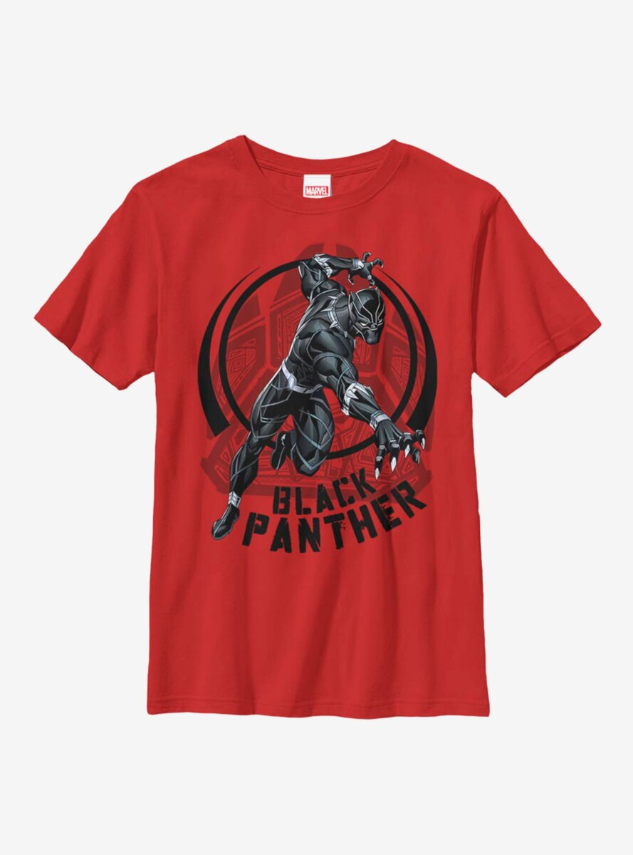 Marvel Black Panther Attack Youth T-Shirt