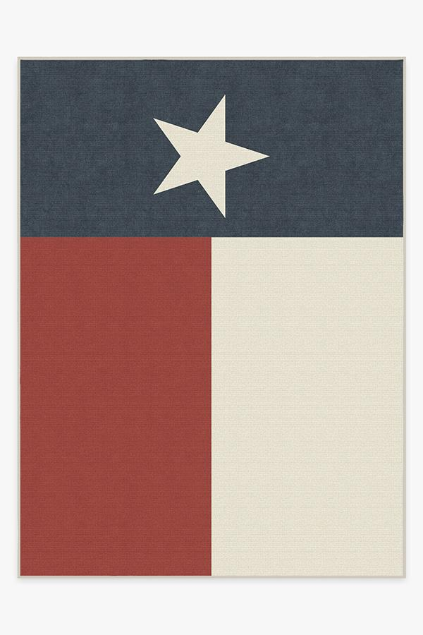 Washable Rug Cover | Texas Red Rug | Stain-Resistant | Ruggable | 9'x12'