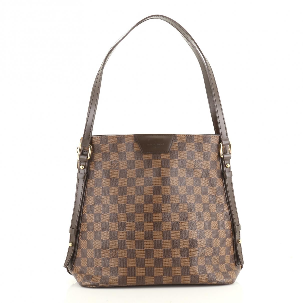 Louis Vuitton \N Brown Leather handbag for Women \N
