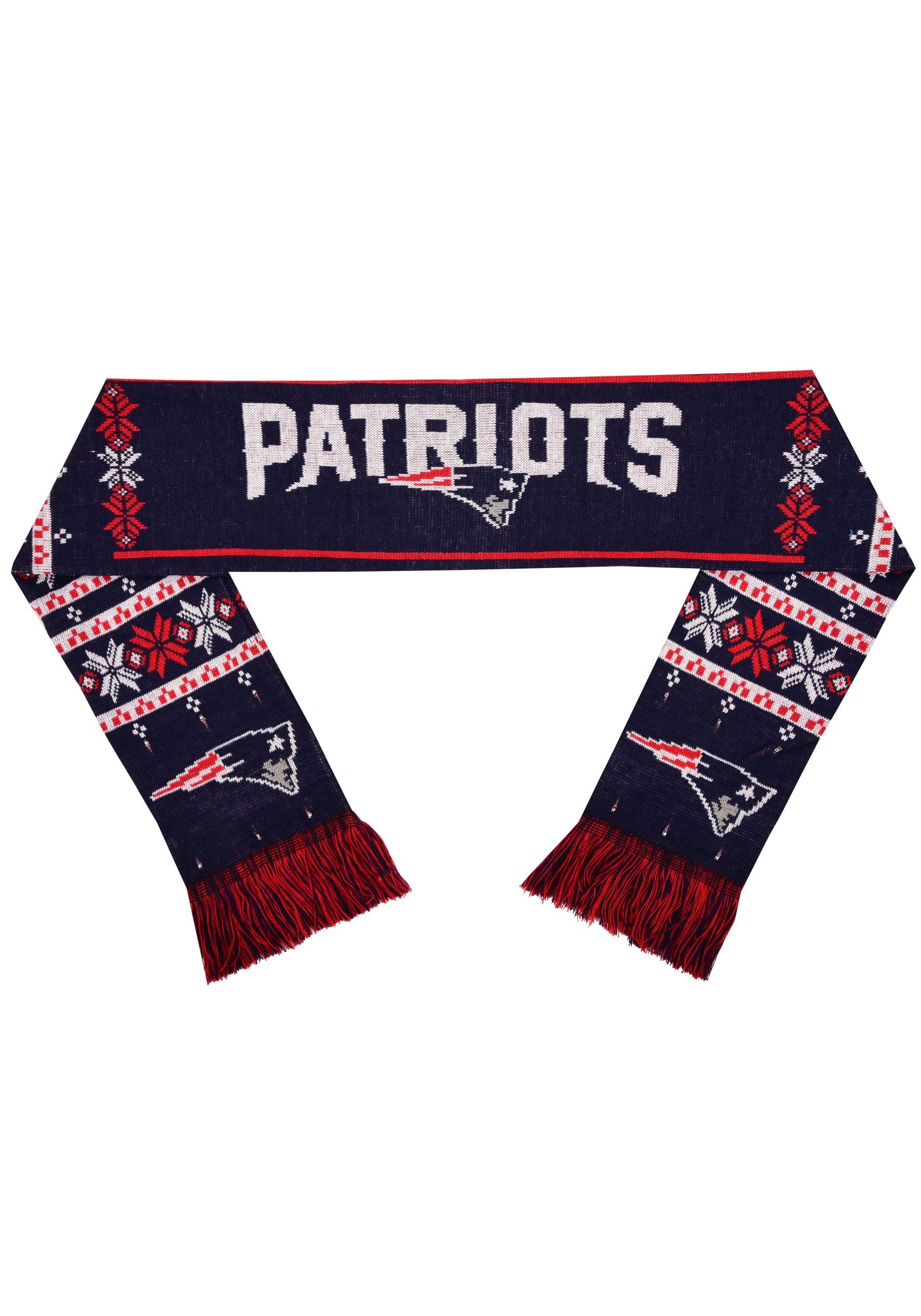 NFL New England Patriots Light Up Scarf