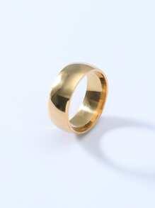 Maenner Vintage Titan Stahl Ring