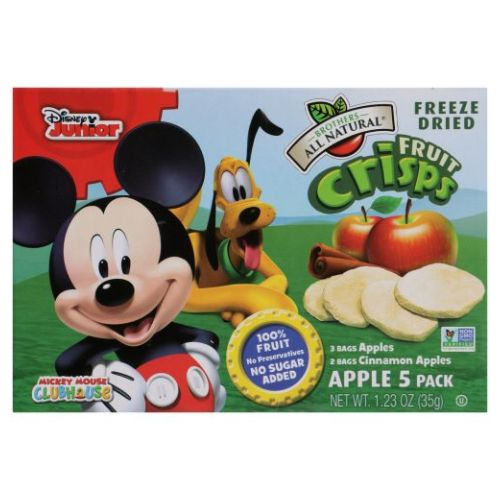 Fruit Mix Apple Micky Mouse 1.23 Oz by Brothers All Natural