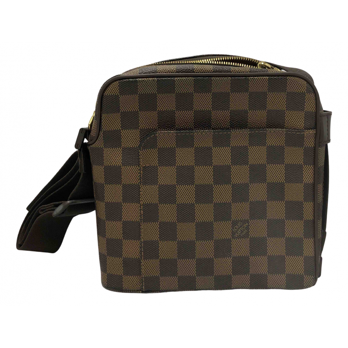 Louis Vuitton Olav  Brown Cloth bag for Men N