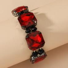 Armband mit Edelstein Dekor