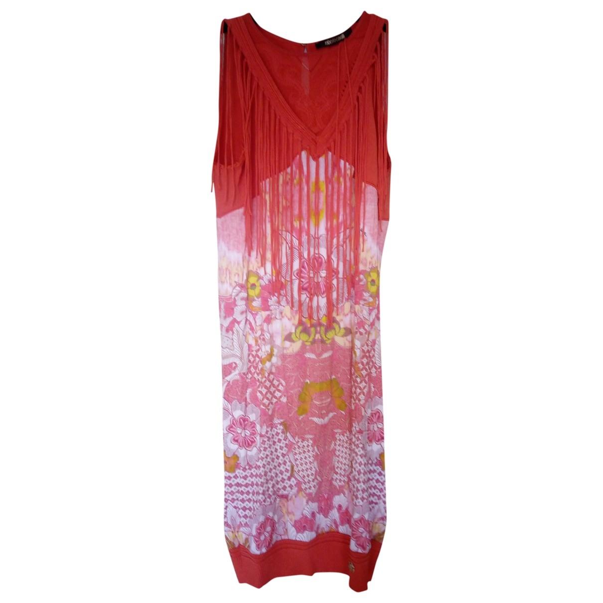 Roberto Cavalli \N Kleid in  Bunt Polyester
