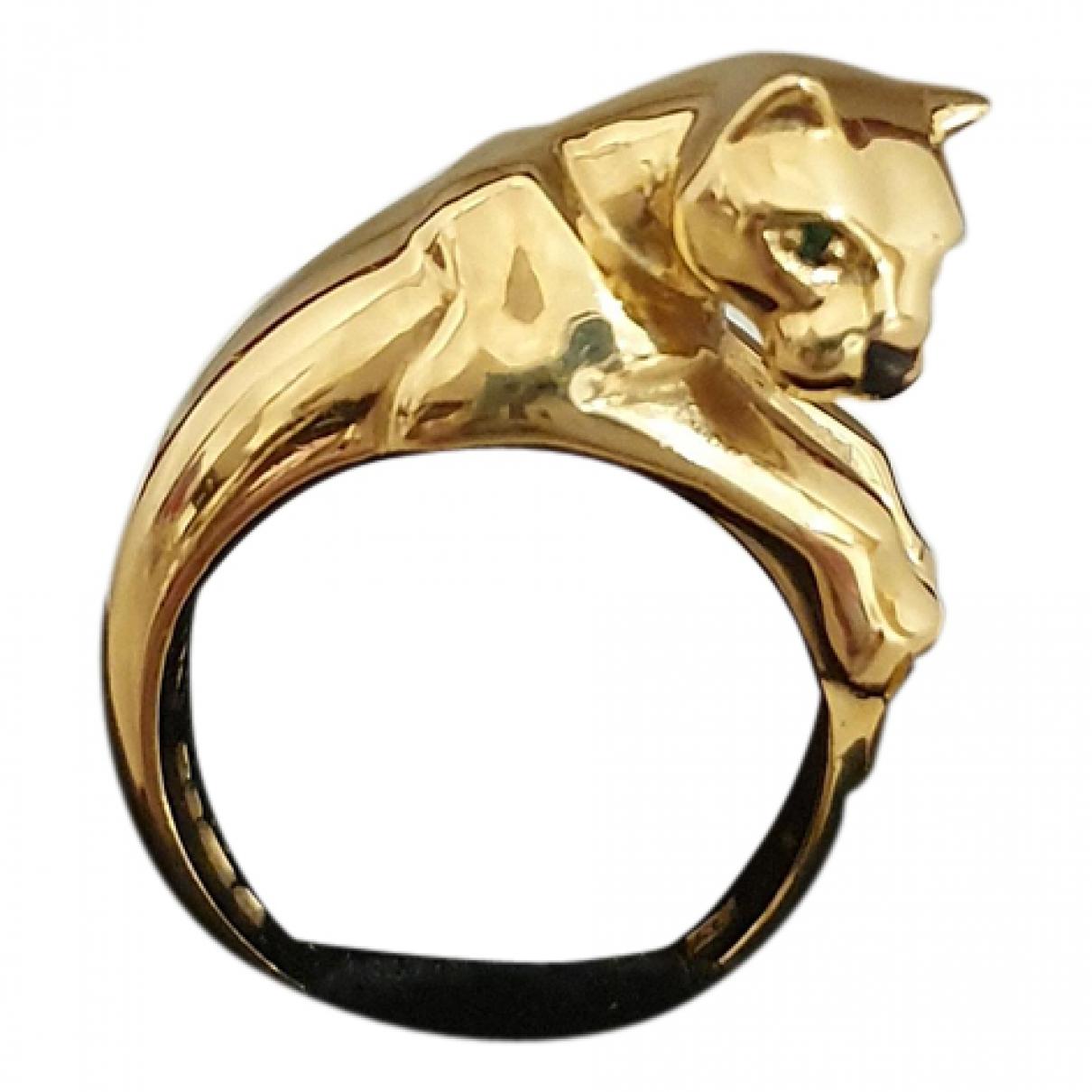 Cartier - Bague Panthere pour femme en or jaune