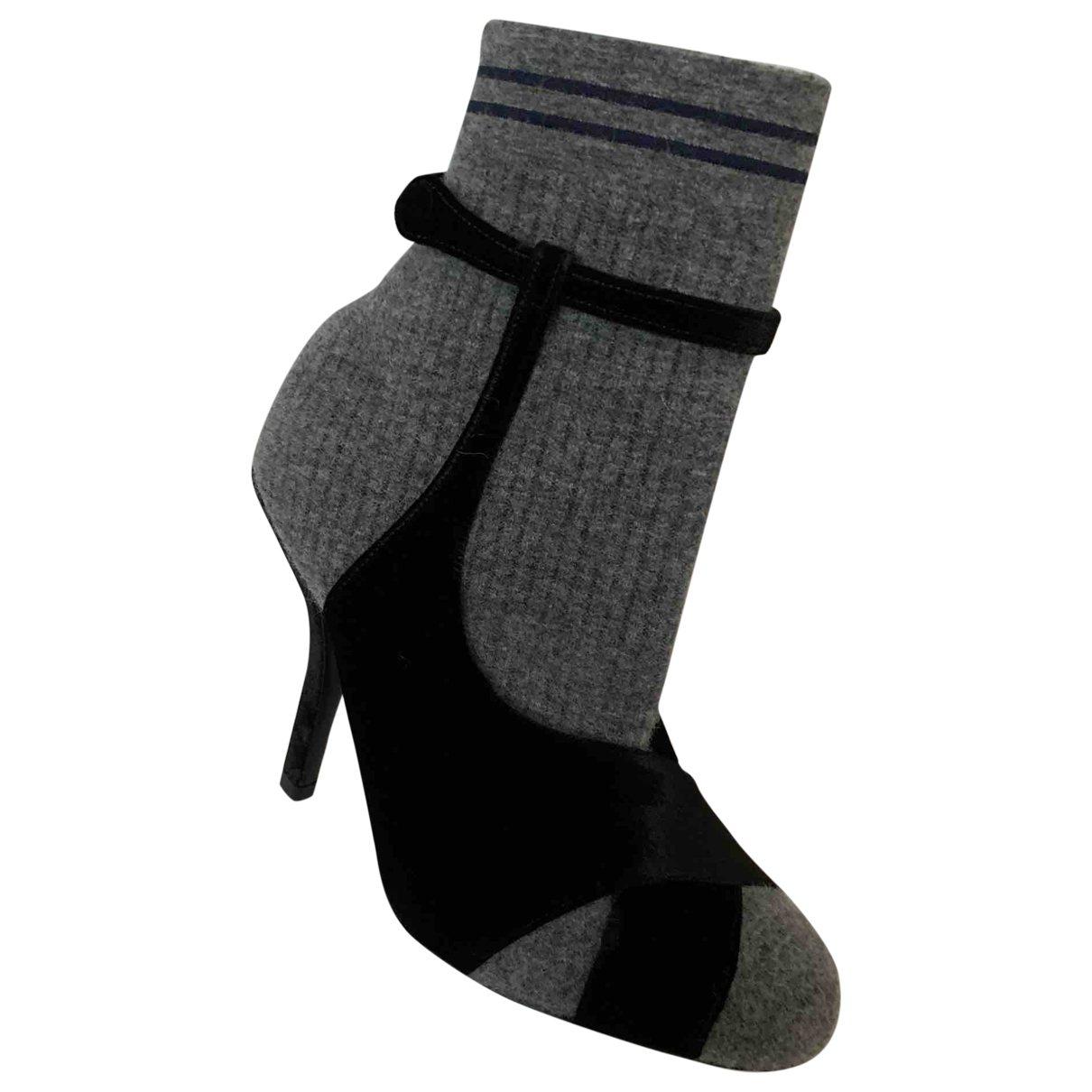 Fendi \N Multicolour Cloth Ankle boots for Women 40 EU