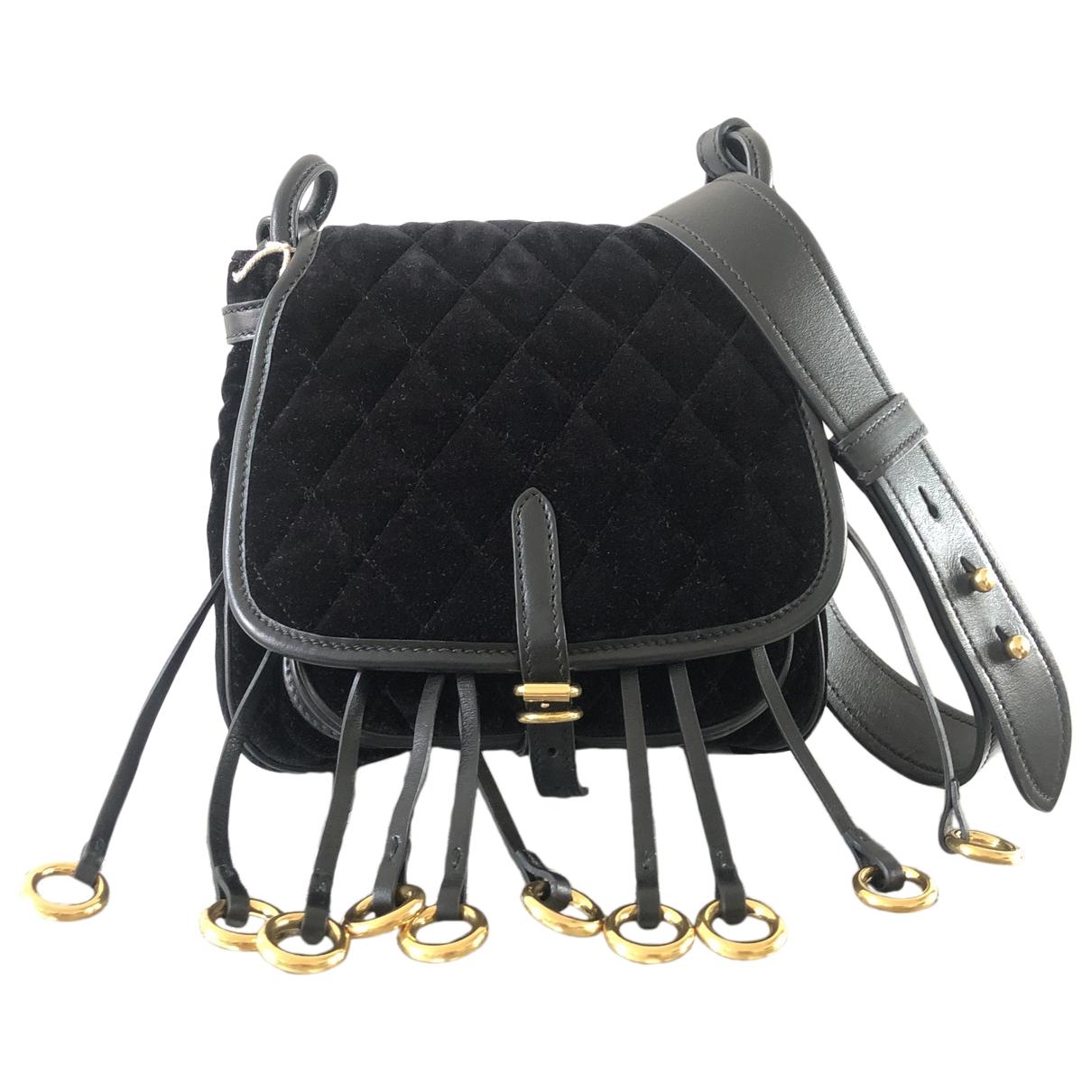 Prada Corsaire Black Velvet handbag for Women \N