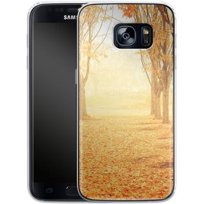Samsung Galaxy S7 Silikon Handyhuelle - Fog von Joy StClaire