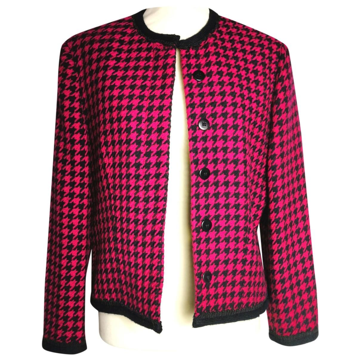 Versus - Veste   pour femme en laine - multicolore