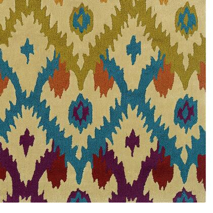 RUG-TAE0281 8 x 10 Rectangle Area Rug in
