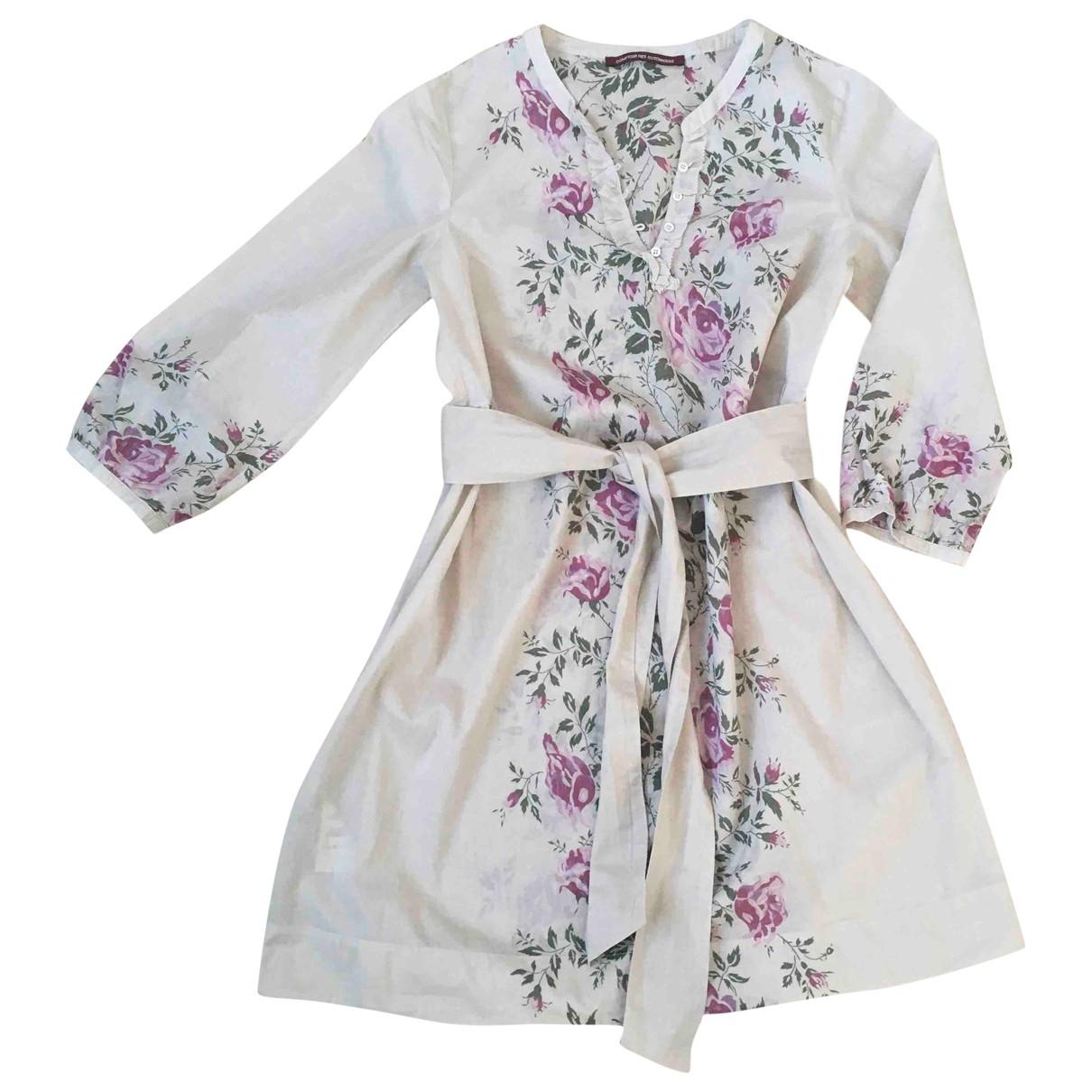 Comptoir Des Cotonniers - Robe   pour femme en coton - beige