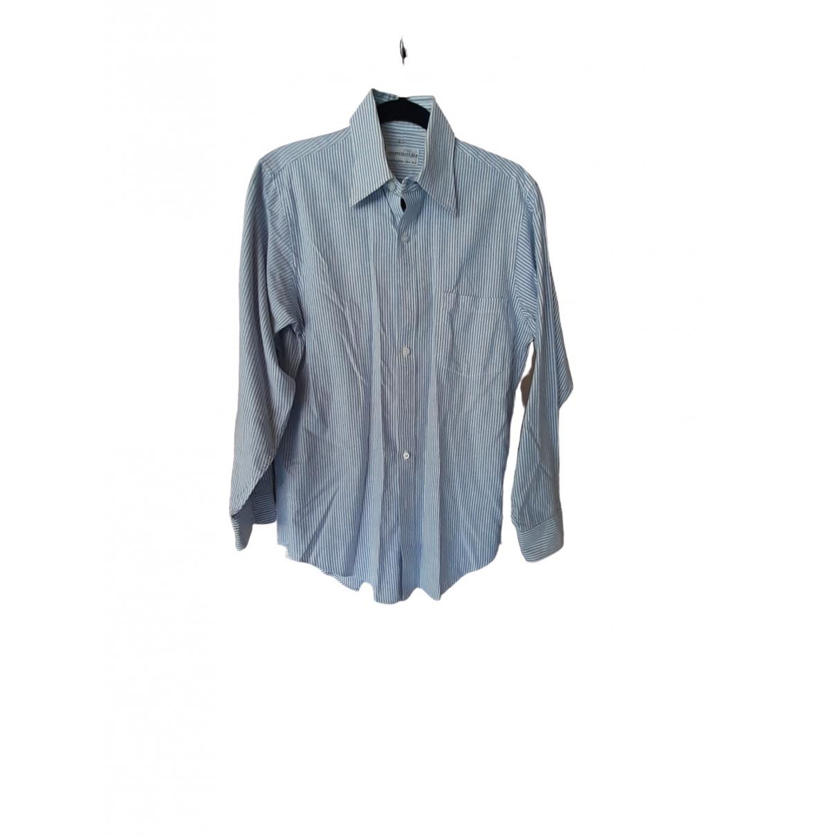 Bloomingdales \N Multicolour Cotton Shirts for Men 15 UK - US (tour de cou / collar)