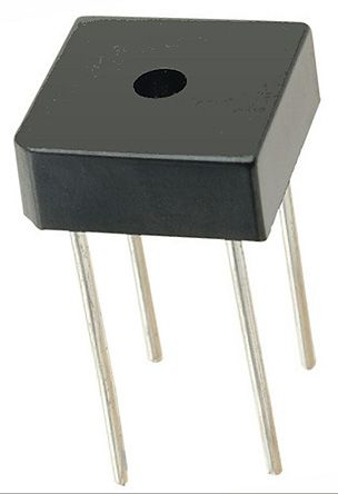 HY Electronic Corp BR1010SG, Bridge Rectifier, 10A 1000V, 4-Pin BR-8 (20)