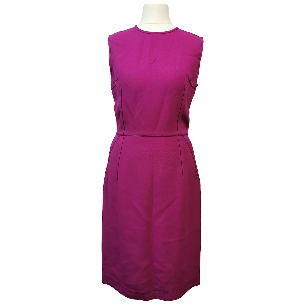 Lanvin \N Kleid in  Rosa Synthetik