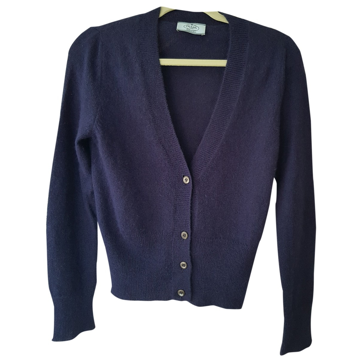 Prada \N Blue Wool Knitwear for Women 40 FR