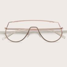 Flat Top Shield Glasses