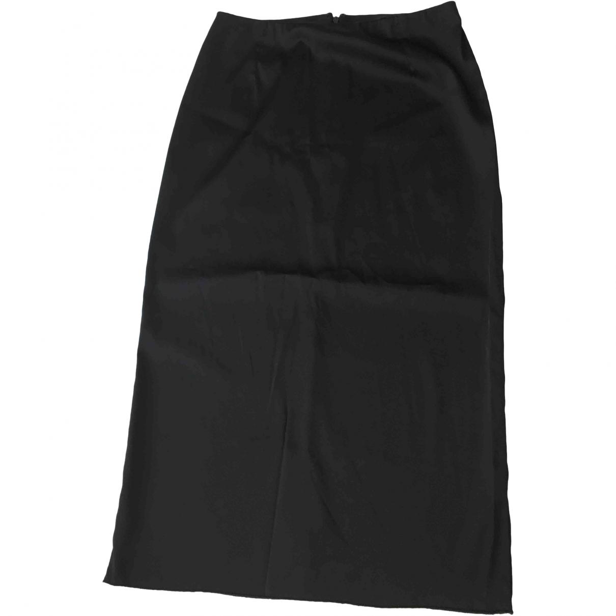 Dolce & Gabbana \N Black Cotton - elasthane skirt for Women 40 IT