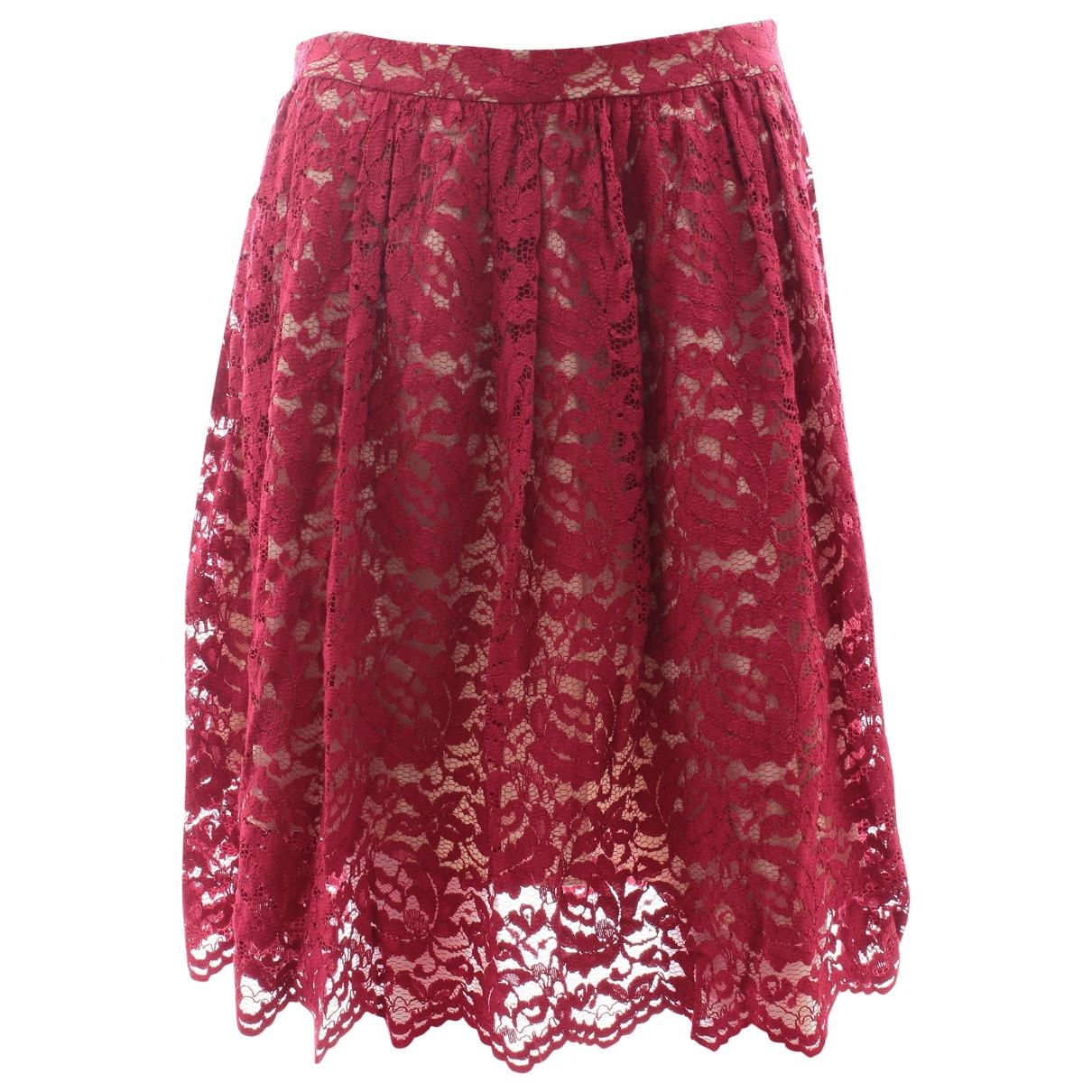 Erdem - Jupe   pour femme - rouge