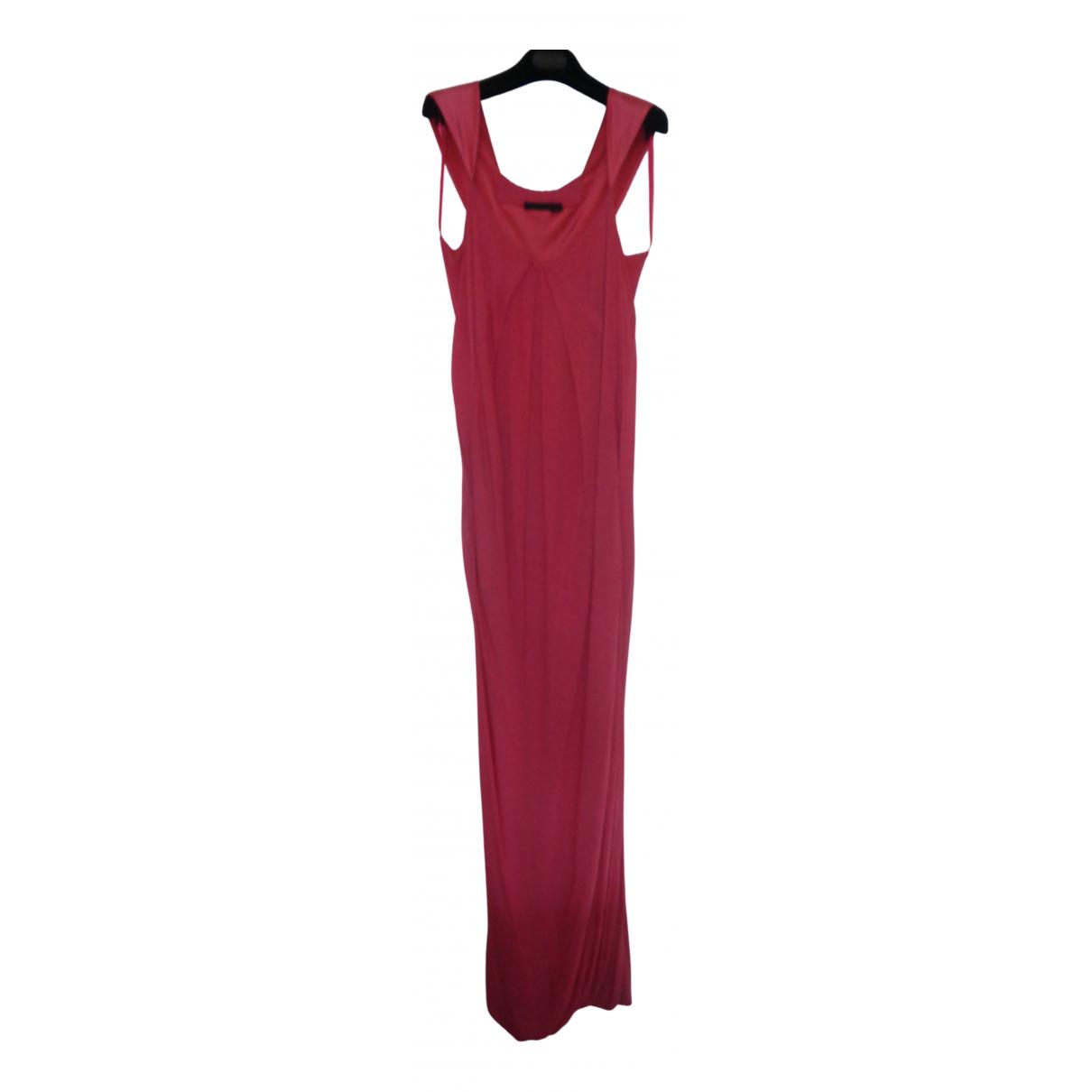 Donna Karan \N Kleid in  Rosa Viskose