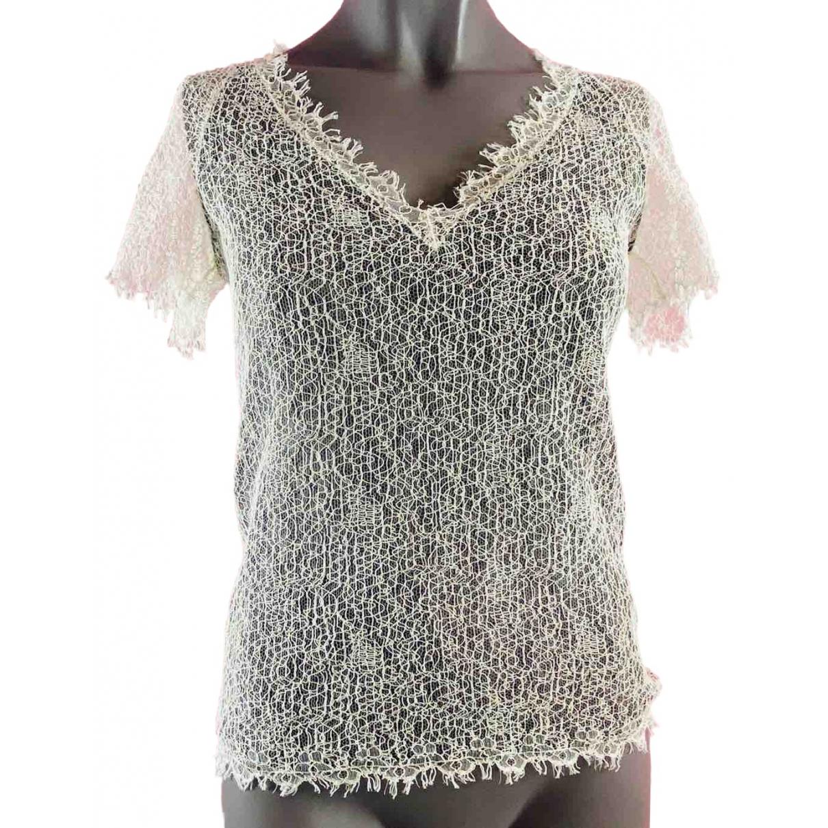 Chanel \N White Silk  top for Women 36 IT