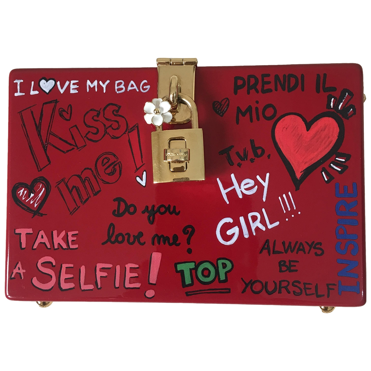 Dolce & Gabbana \N Red Metal handbag for Women \N