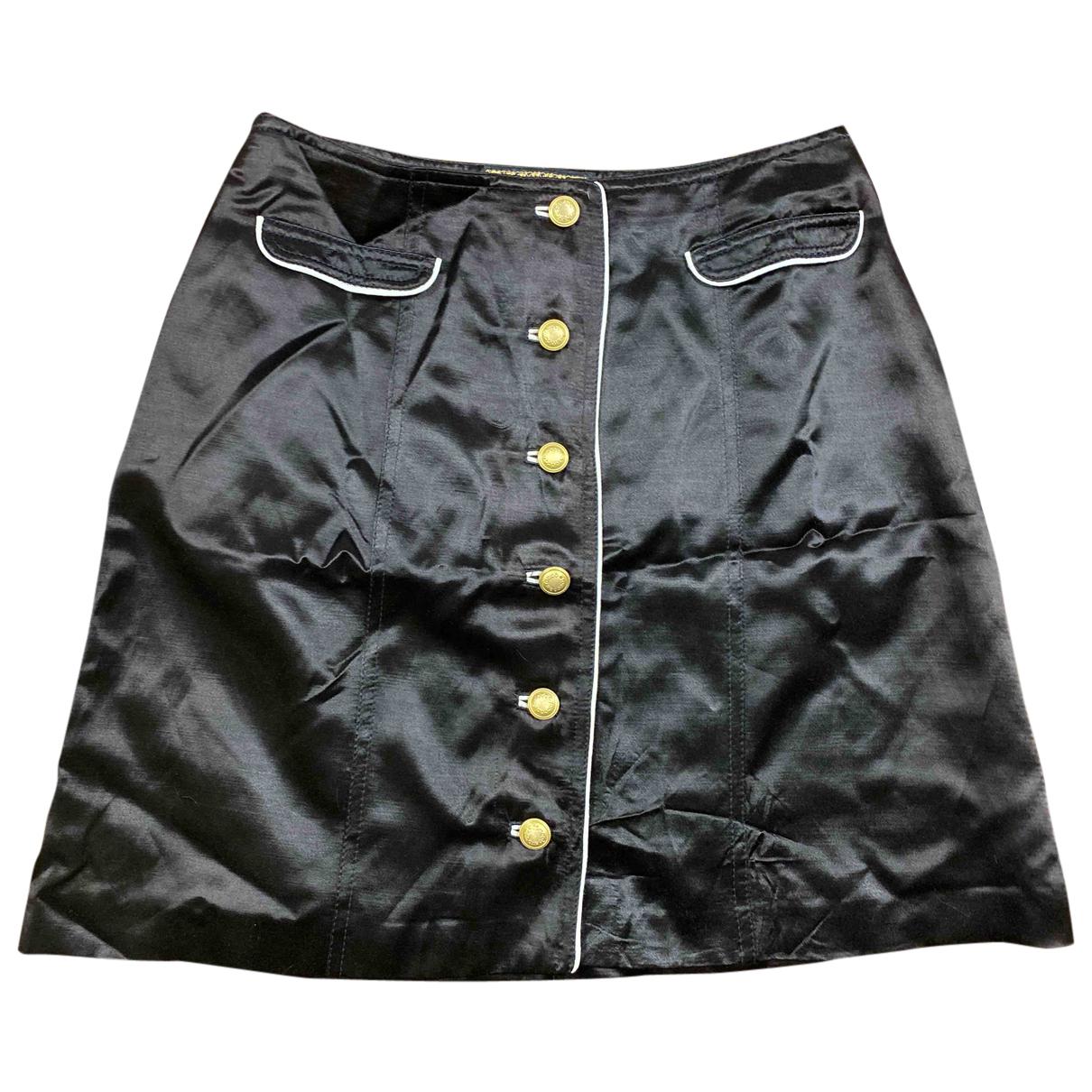 Autre Marque - Jupe   pour femme en coton - noir