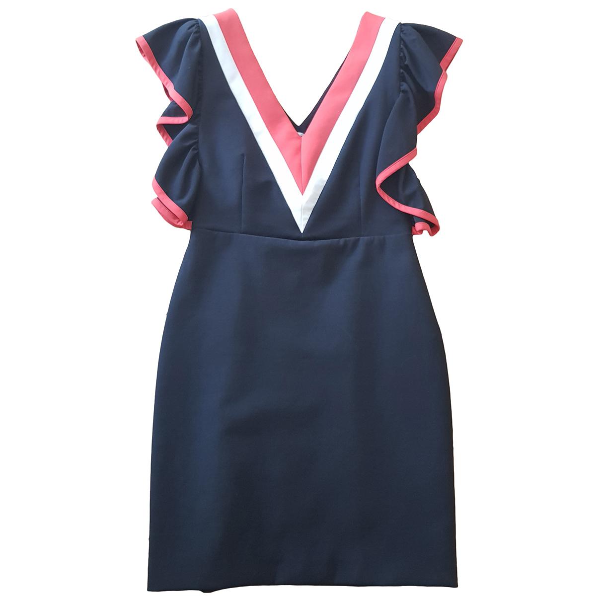 Msgm - Robe   pour femme en coton - elasthane - noir