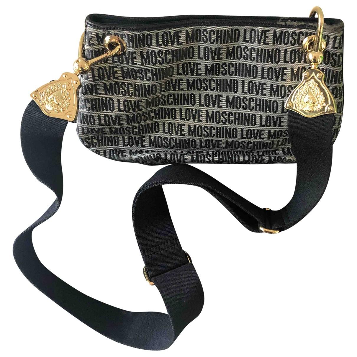 Moschino Love \N Black Cloth handbag for Women \N