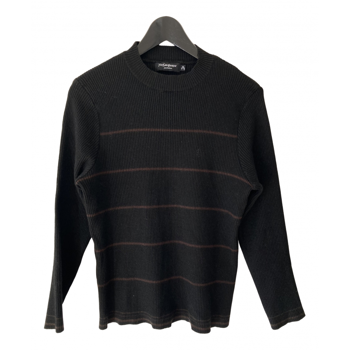 Yves Saint Laurent N Black Wool Knitwear for Women 34 FR