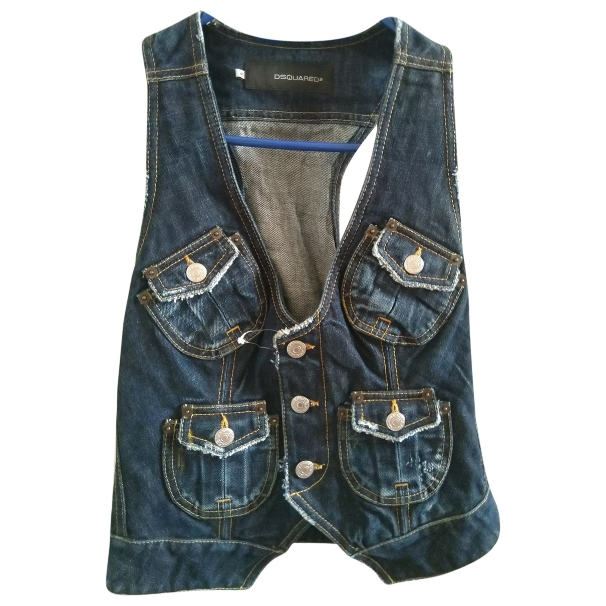 Dsquared2 \N Top in  Blau Denim - Jeans