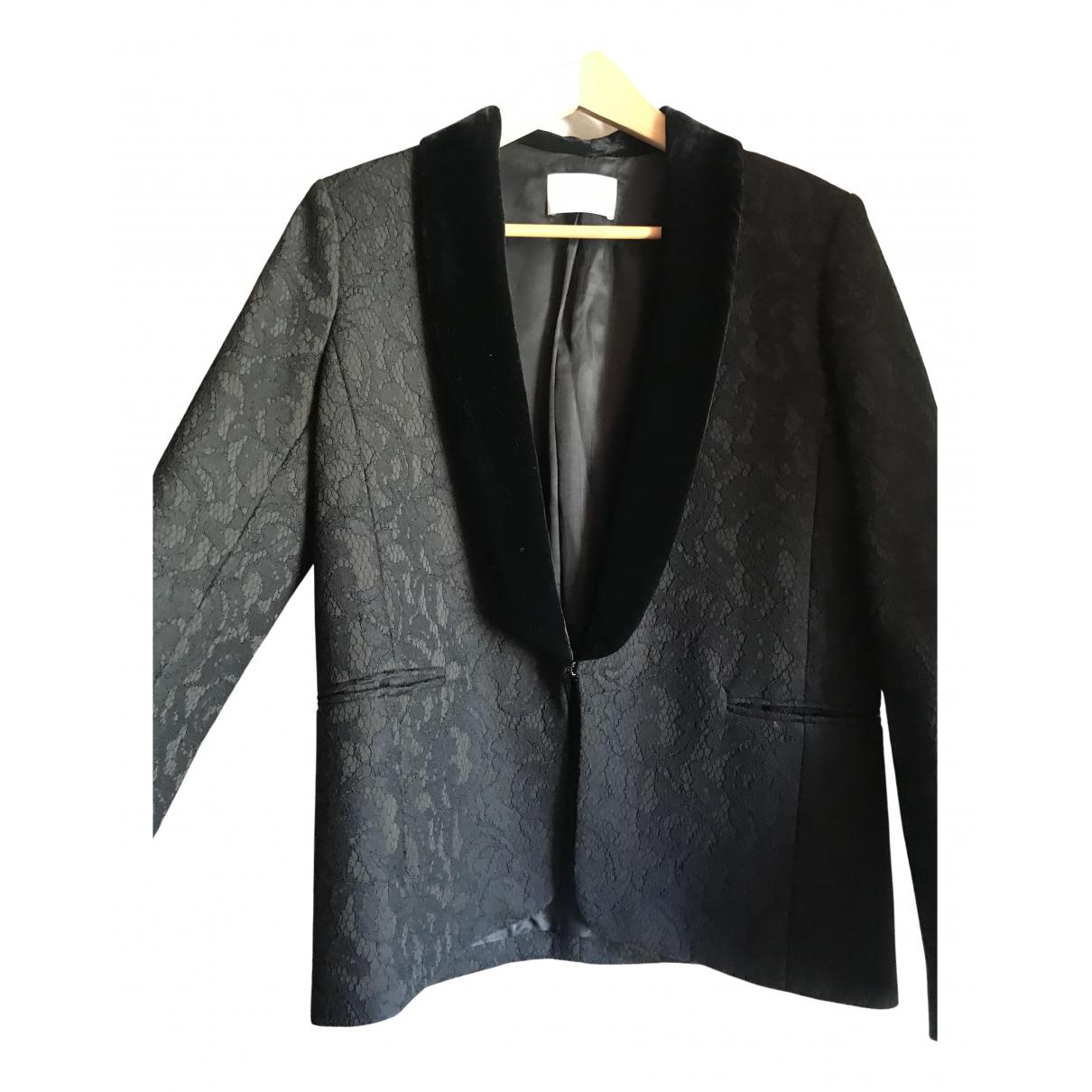 Sandro N Black jacket for Women 40 FR