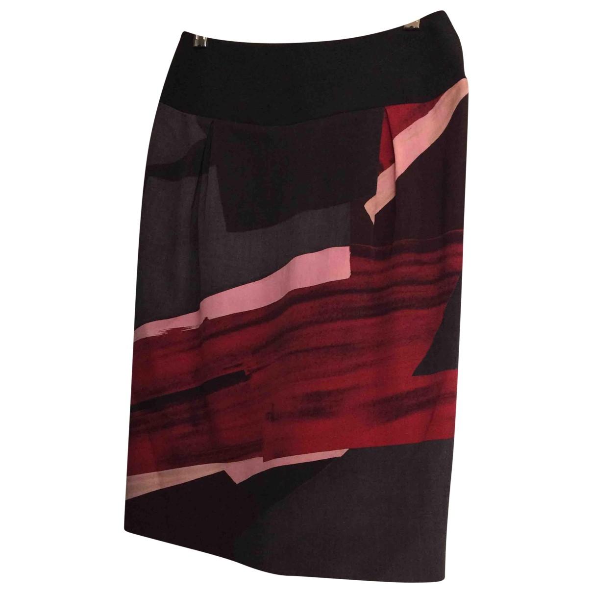 Iceberg \N Multicolour Wool skirt for Women 40 IT