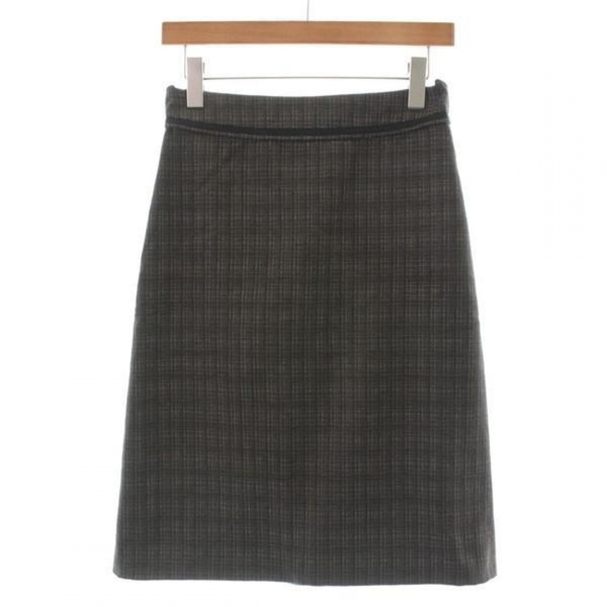 Dries Van Noten \N Brown Wool skirt for Women 34 FR