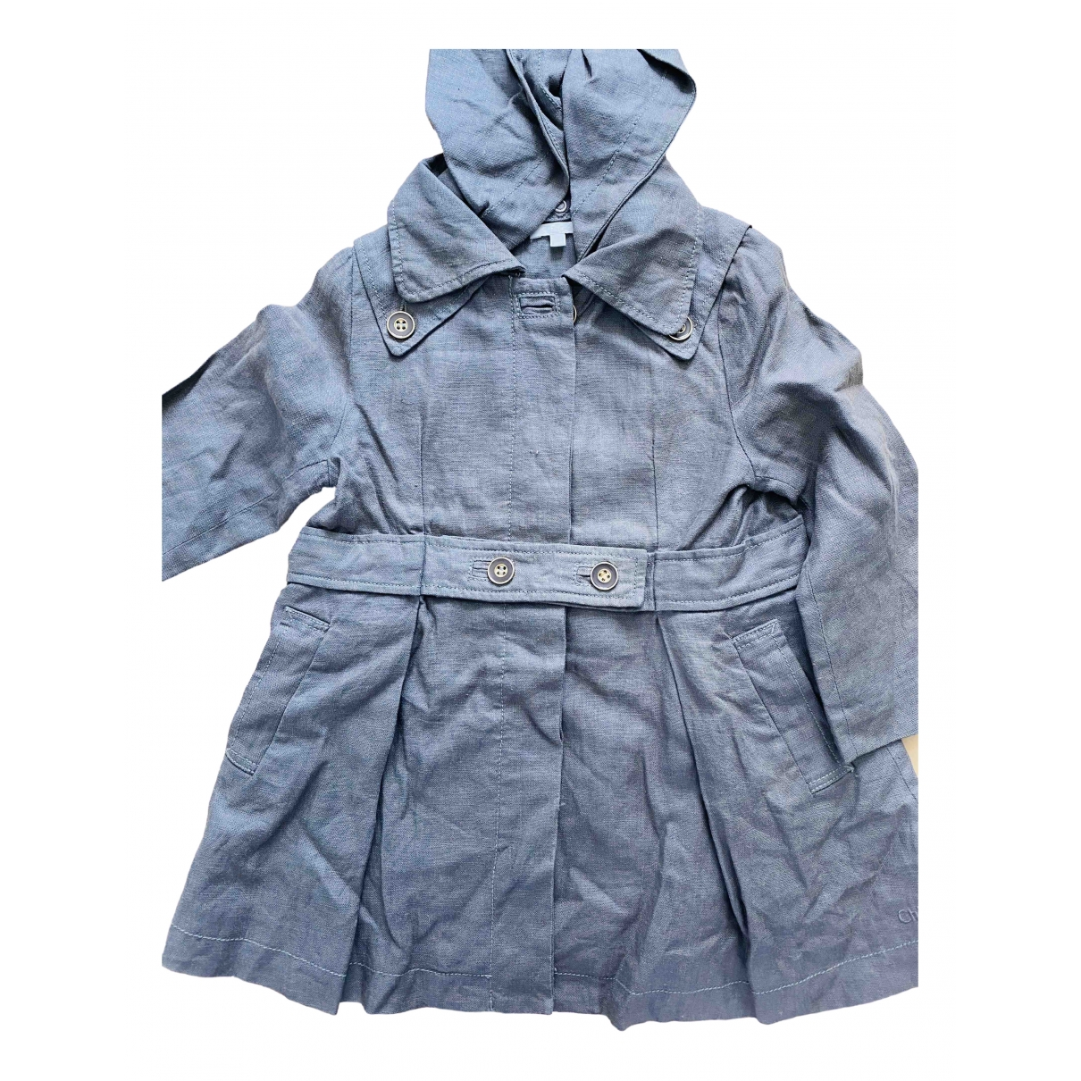 Chloé \N Anthracite Linen jacket & coat for Kids 3 years - up to 98cm FR