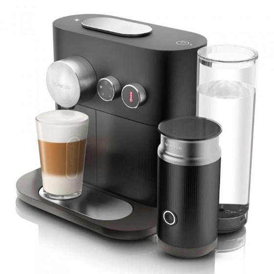 Kaffeemaschine Nespresso Expert&Milk Black