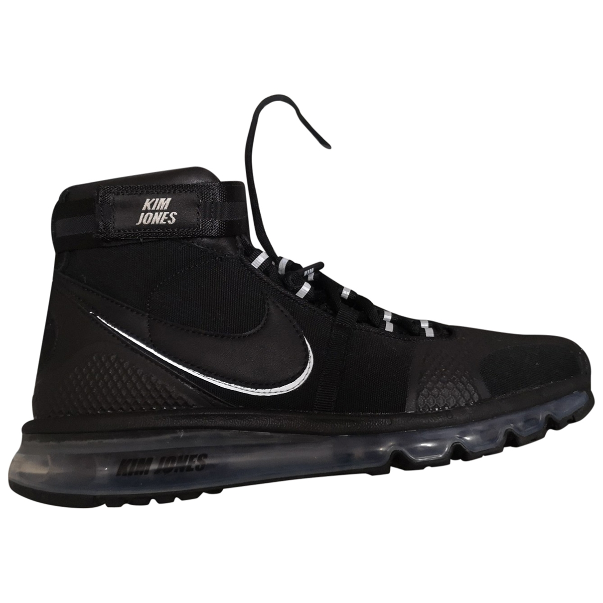 Nike Air Max 720 Black Leather Trainers for Men 44.5 EU