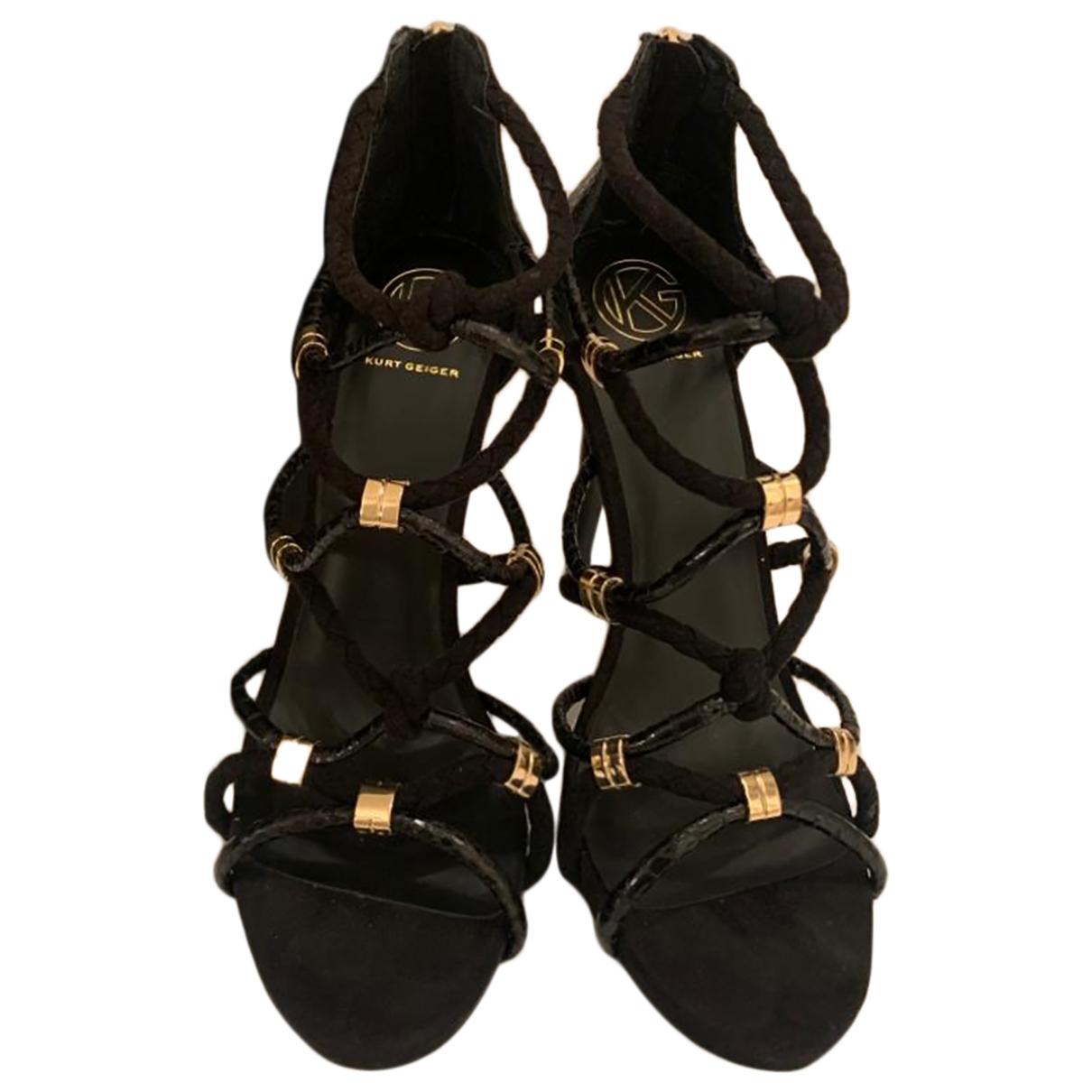 Kurt Geiger \N Black Sandals for Women 40 EU