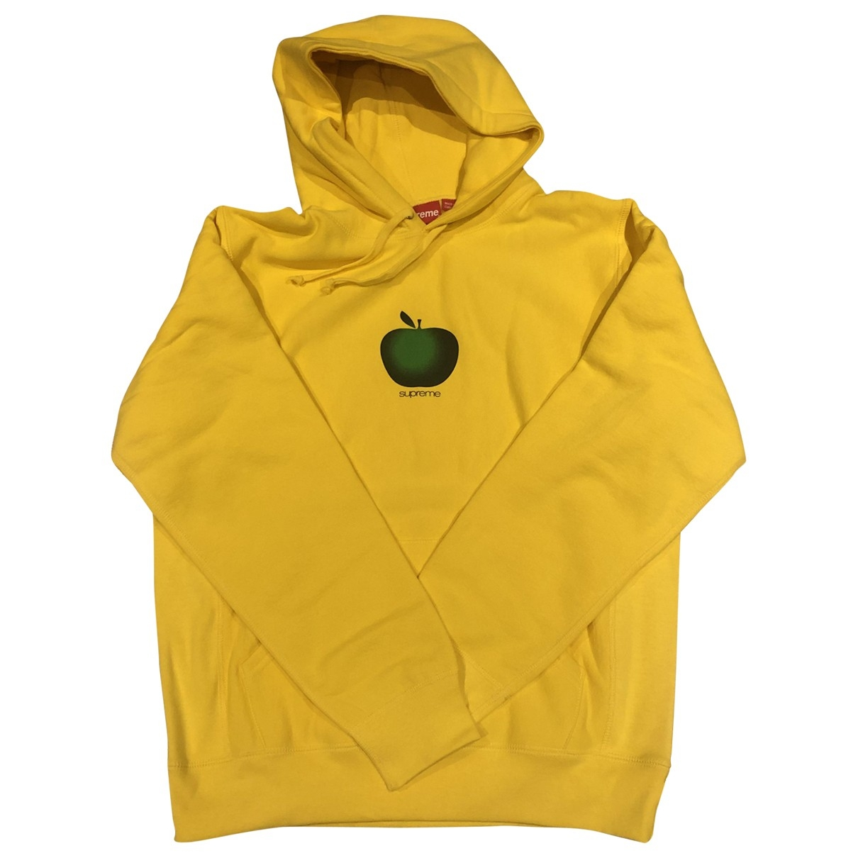 Supreme \N Pullover.Westen.Sweatshirts  in  Gelb Baumwolle