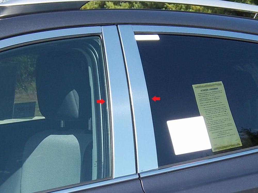 Quality Automotive Accessories 4-Piece Pillar Post Trim Kit Toyota Rav4 2013