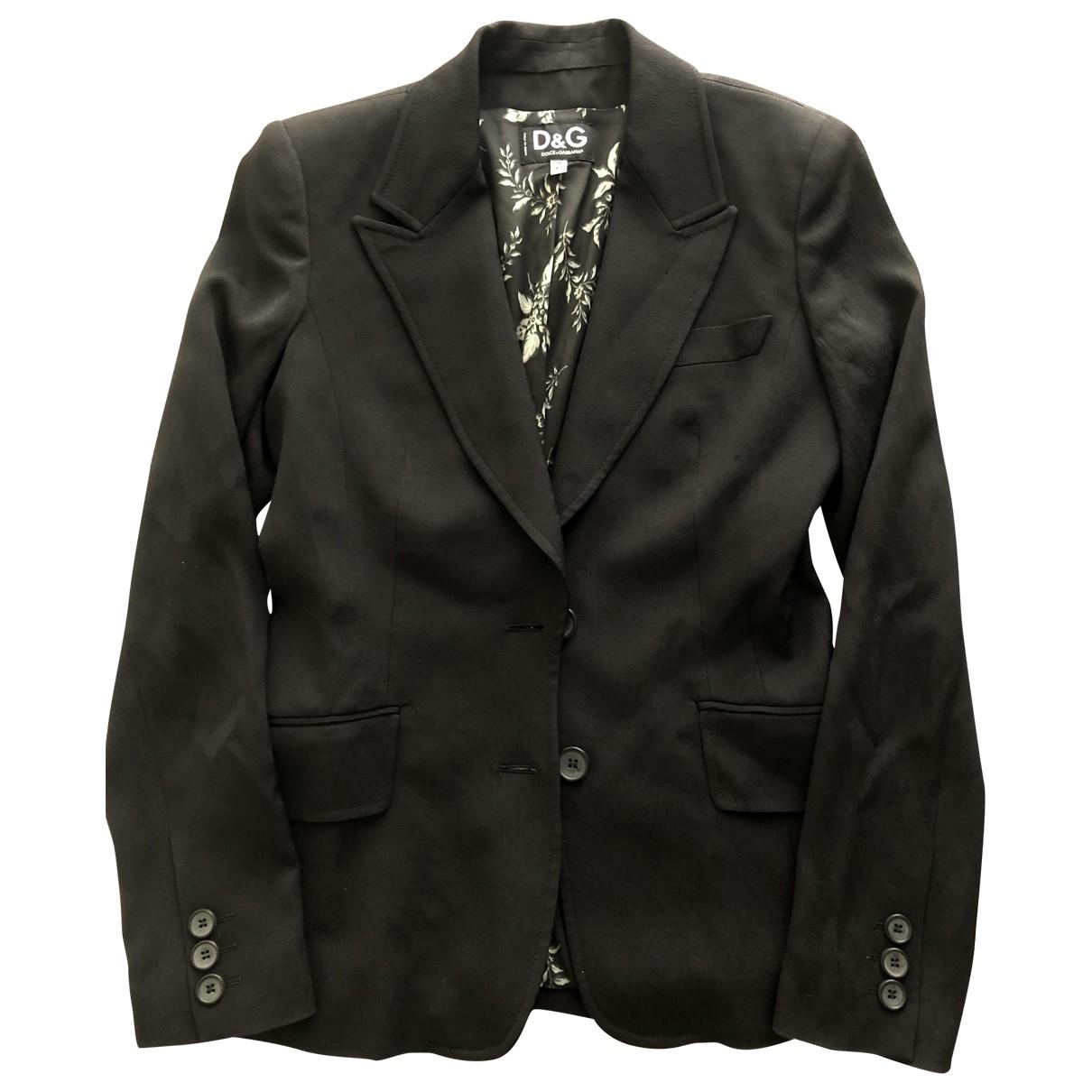 D&g \N Black jacket for Women 42 IT