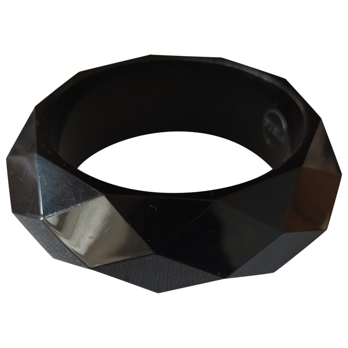 Furla \N Armband in  Schwarz Kunststoff