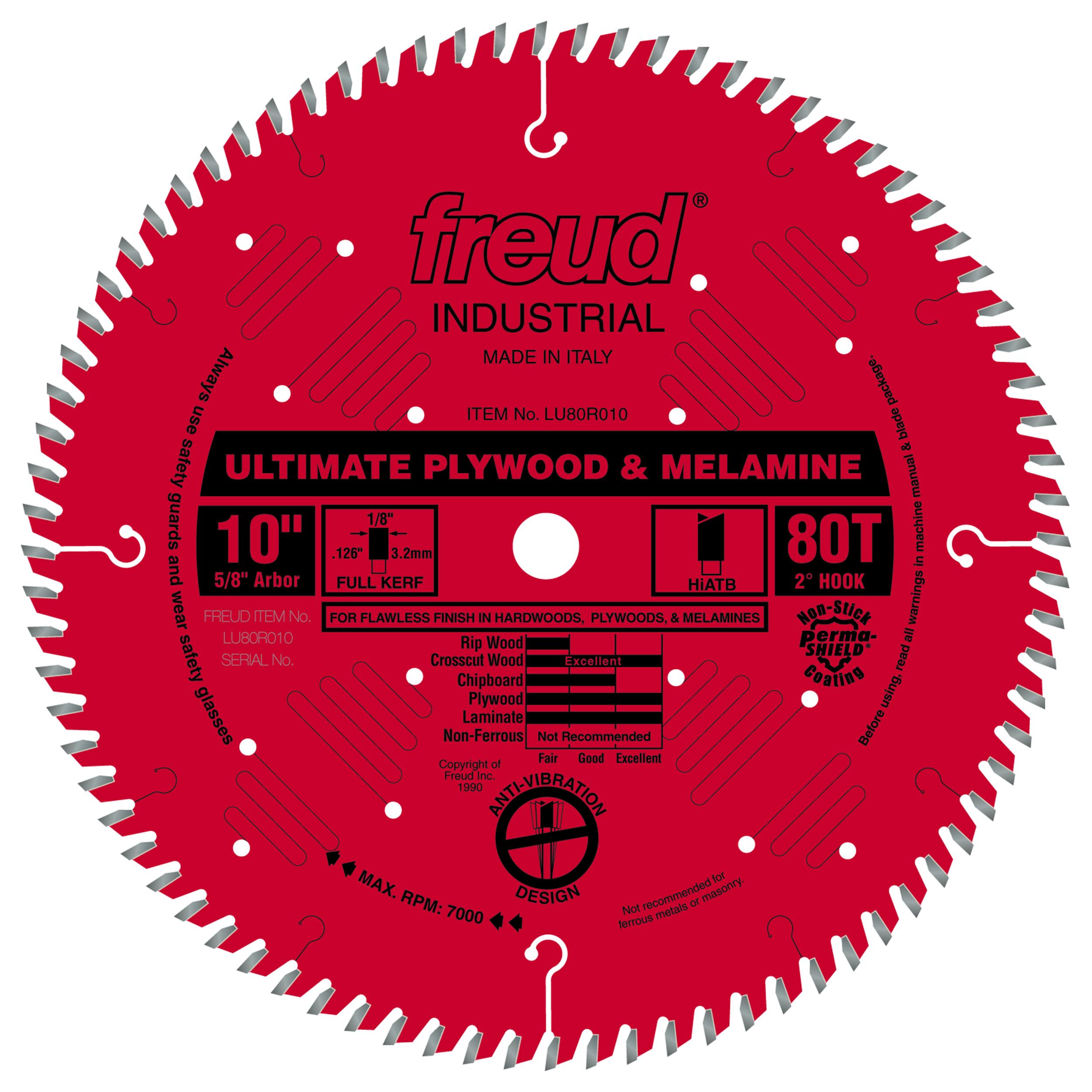 LU80R010 Finish Circular Saw Blade 10